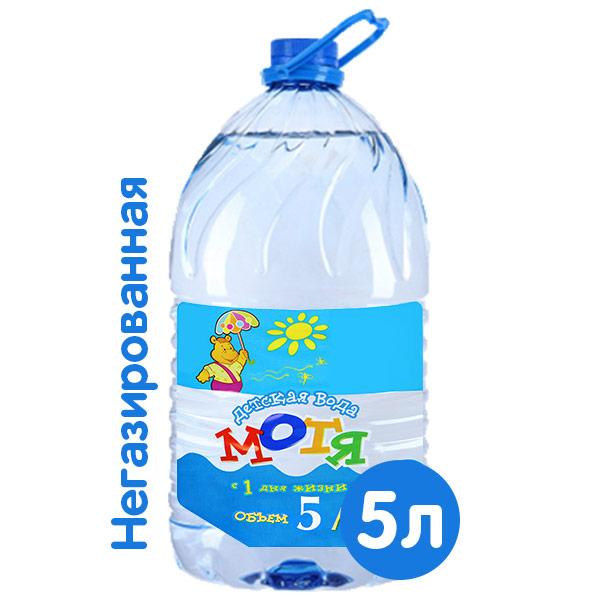 Вода Мотя для детей 5 литров фото