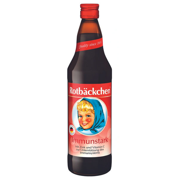 Сок Rotbackchen Immunstark 0.7 литра, стекло, 6 шт. в уп.