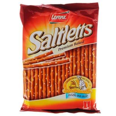 Снэки Saltletts / Солтлетс палочки с солью 75гр