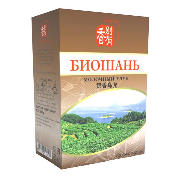 Чай Биошань Молочный Улун 80 гр фото
