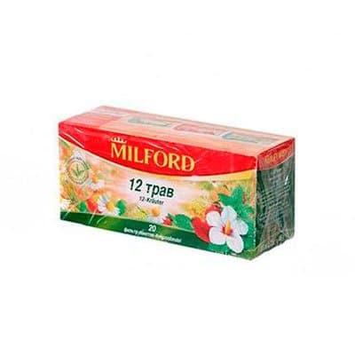 Milford / Милфорд 12 трав (20пак) (2шт.)