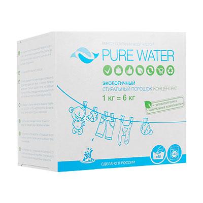 Стиральный порошок Pure Water 1 кг.