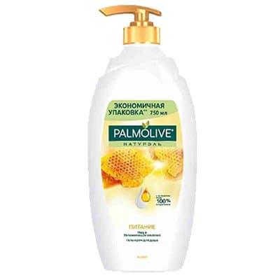 """Гель для душа """"Palmolive"""" молоко+мёд 750мл (1шт.)"""