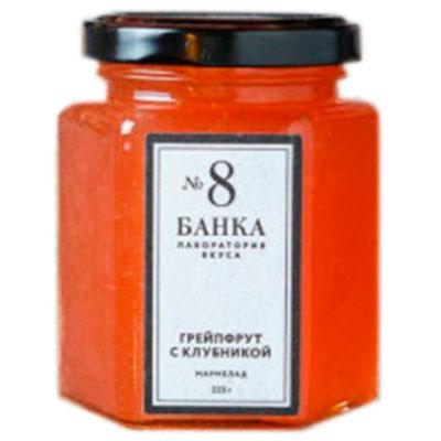 Мармелад Грейпфрут с клубникой (Ферма Кондрашова Н.) 225 гр