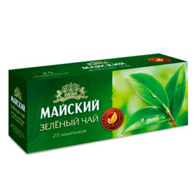 Чай зеленый Майский 25 пак фото