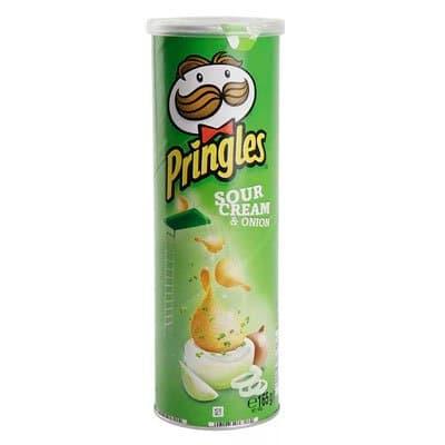 Pringles / Принглс сметана + лук 165г (2шт.)