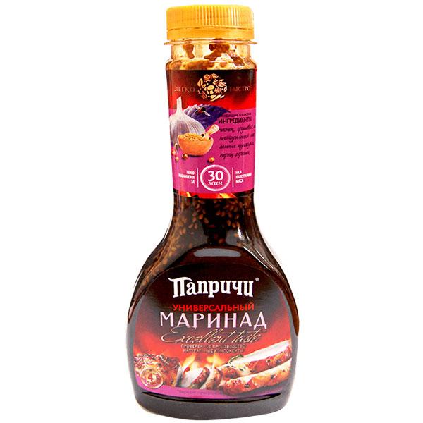 Соус деликатесный маринад универсальный Папричи 400 гр