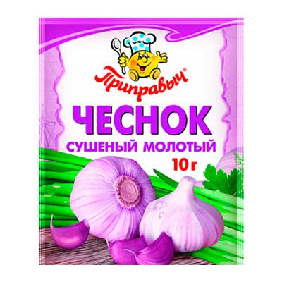 Чеснок сушеный молотый Приправыч 10 гр