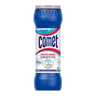 Чистящий порошок Comet Утреняя роса без хлоринола 475 гр фото