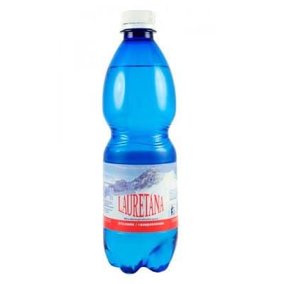 Вода Lauretana 0,5л газ пэт (12шт)