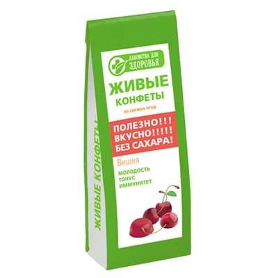 Мармелад желейный с вишней лакомства для здоровья 170 гр.