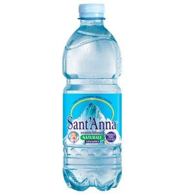 Вода Santanna 0.5 литра, без газа, пэт, 24шт. в уп.