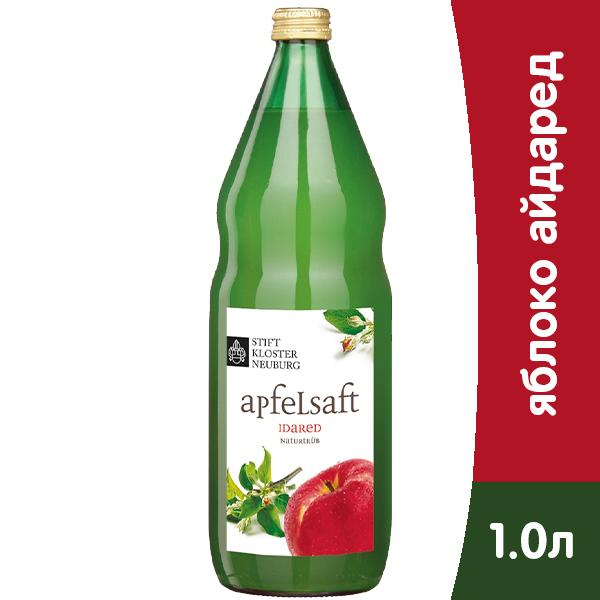 Сок Stift Klosterneuburg яблочный Айдаред 1 литр, стекло, 6 шт. в уп. фото