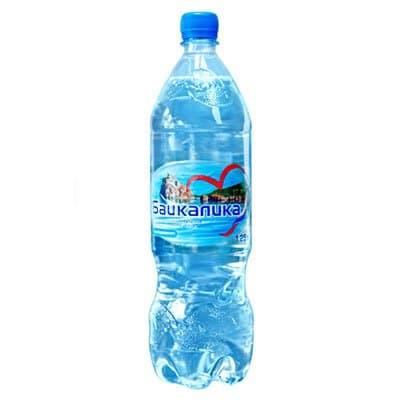 Вода Байкалика 1.25 литра, без газа, пэт, 6шт. в уп.