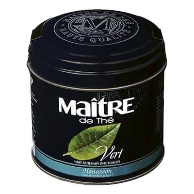 Чай Maitre Наполеон зеленый 100гр фото