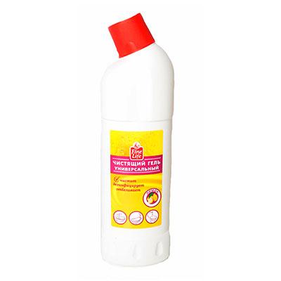 Чистящий гель Fine Life универсальный лимон 1 литр фото