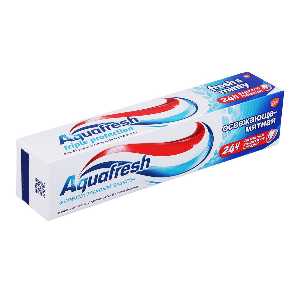 Зубная паста Aquafresh освежающе-мятная 100мл (1шт) фото