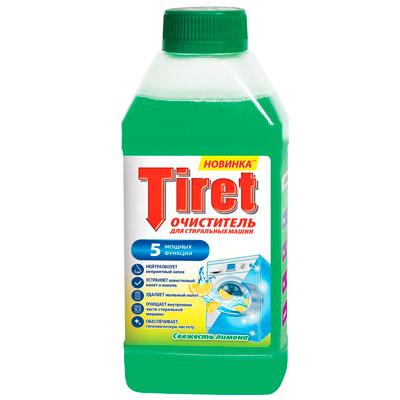 Очиститель Tiret для стиральных машин Свежесть лимона 250 мл фото