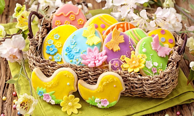 Пасхальное печенье для детей
