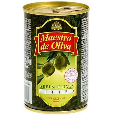 Оливки Maestro без косточек 300 гр (2шт.)