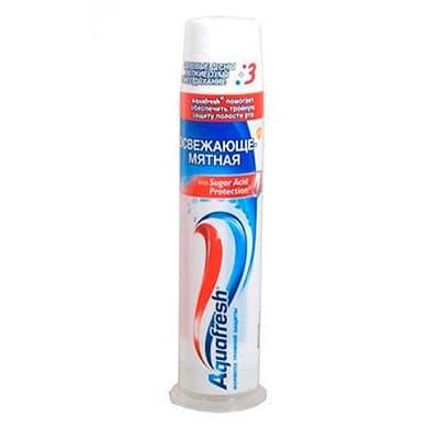 Зубная паста АQUAFRESH освежающе-мятная пам 100мл (1шт)