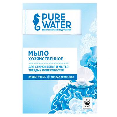 Мыло хозяйственное Pure Water 175 гр фото
