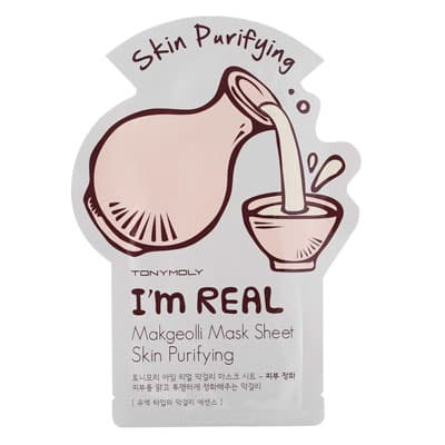 Маска тканевая TonyMoly с экстрактом макколли I'm Real Makgeolli Mask Sheet 21мл
