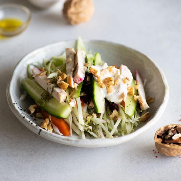 Салат BeFit творожный с орехами 150 гр