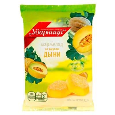 Мармелад Ударница дыня 325 гр (2шт.)