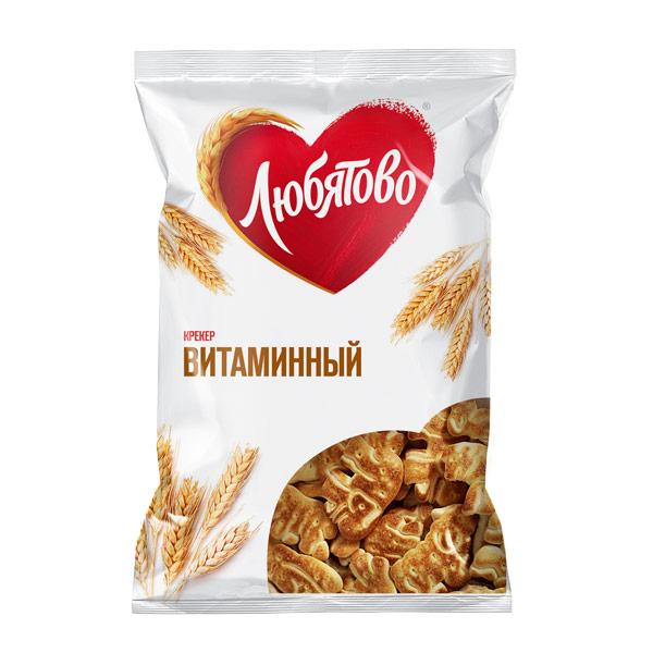 Крекер Любятово Витаминный 300гр фото