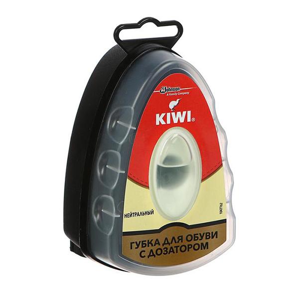 Губка для обуви Kiwi Express с дозатором