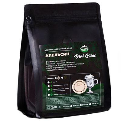 Кофе Brai Gran Апельсин зерно в/у 200 гр фото