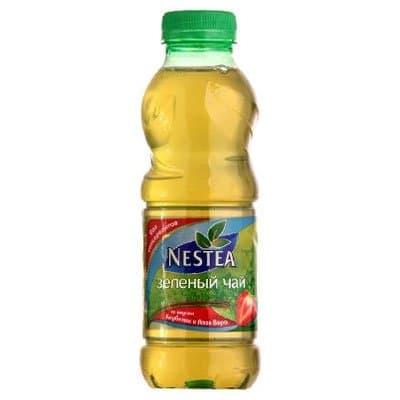 Nestea / Нести Зелёный Клубника-Алоэ 0,5л пэт (12шт)
