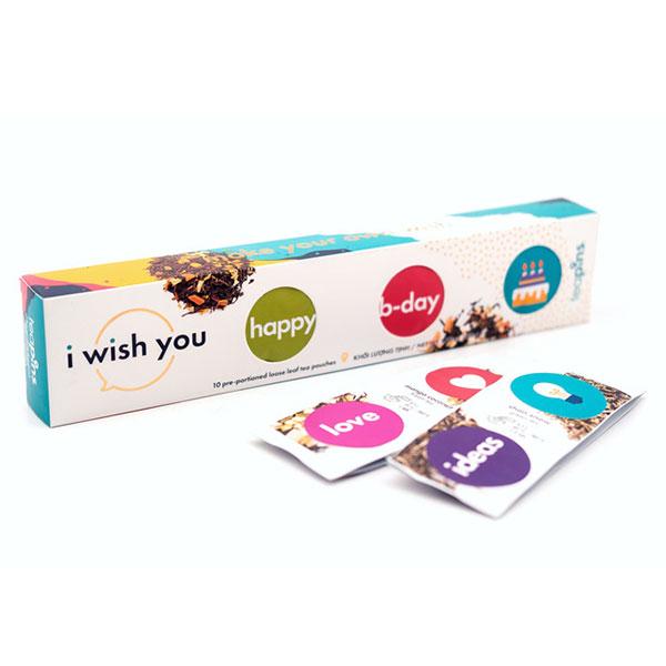 Подарочный набор чая Teapins I Wish You (10 шт. по 5 гр.)
