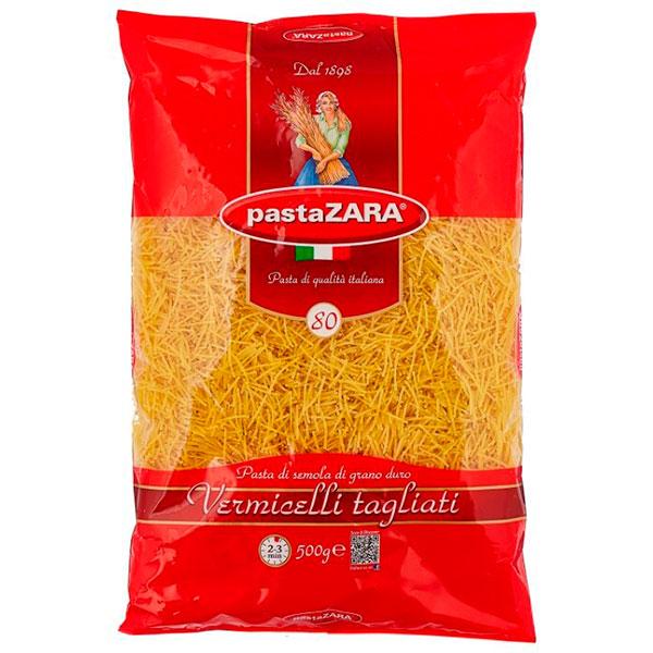Макароны Pasta Zara №80 вермишель 500 гр