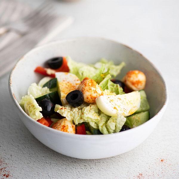 Салат BeFit овощной с моцареллой 200 гр.
