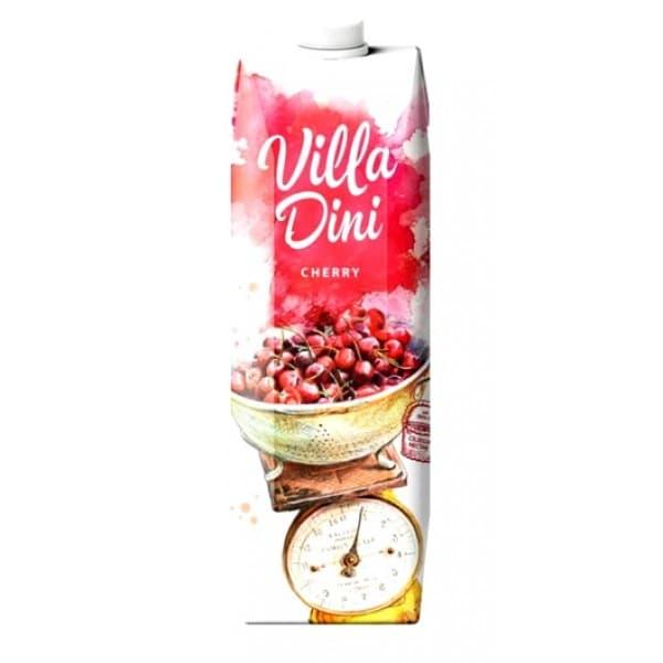 Сок Villa Dini вишневый 1,0 литр, 12 шт. в уп.