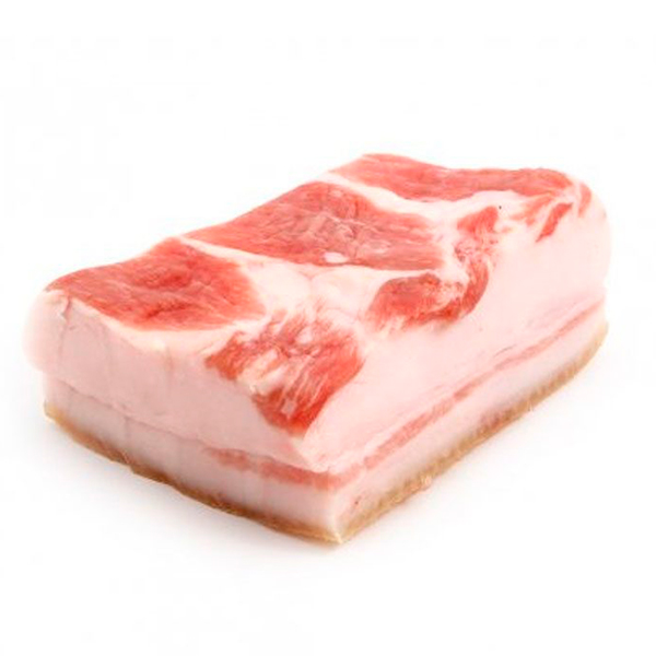 Сало с прослойкой замороженное (Ферма Кузыка) 0,3-0,7 кг