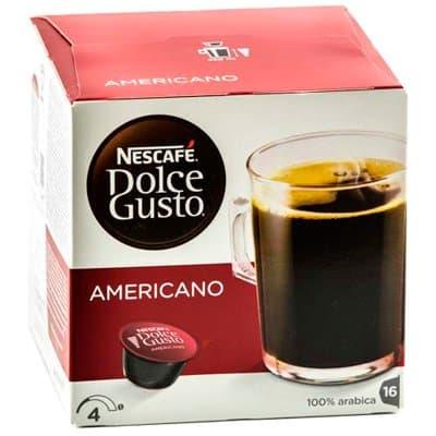 Кофе в капсулах Nescafe Dolce Gusto Americano (8шт)