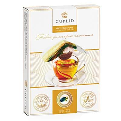Чай Cuplid зеленый Молочный улун 5 пак