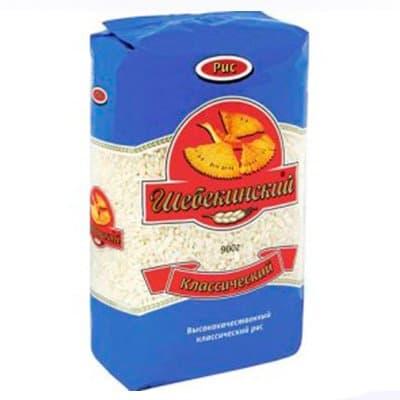 Рис круглый Шебекинский 0.9кг (2шт.)