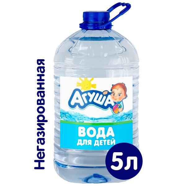 Вода Агуша 5 литров, 4 шт. в уп. фото