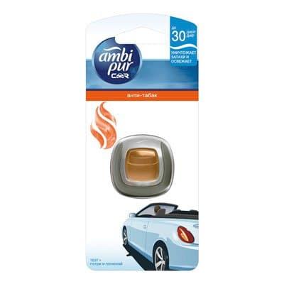 Ароматизатор AMBI PUR для автомобилей Анти-табак 2мл