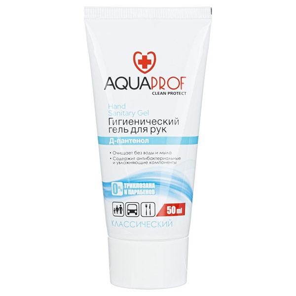 Гель для рук гигиенический Aquaprof Классический 50 мл