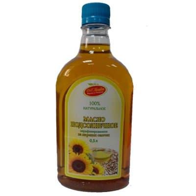 Масло подсолнечное нерафинированное (домашнее) ВиП Продукт пэт 0,5 л