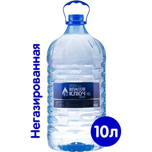 Вода Власов ключ 10 литров фото