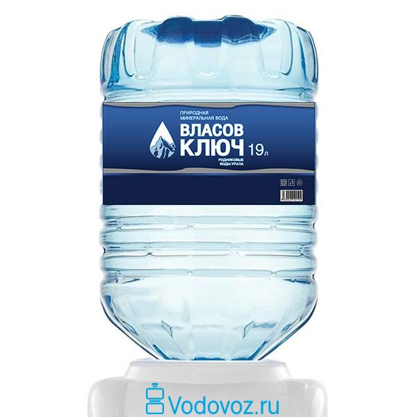 Вода Власов ключ 19 литров в одноразовой таре фото