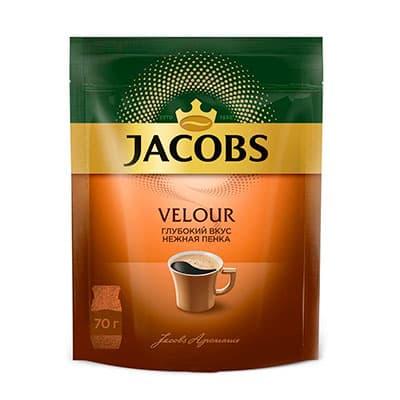 Кофе Jacobs Monarch / Якобс Монарх Velour растворимый м/у 70 гр фото