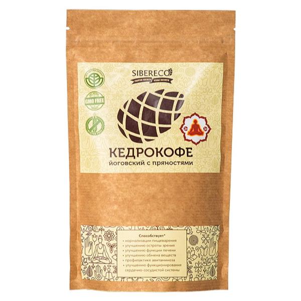Напиток Sibereco Кедрокофе Йоговский с пряностями 90 гр.