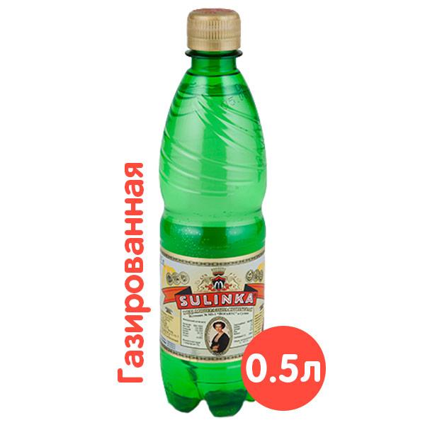Вода Sulinka, газ, 0.5 литра, пэт, 12 шт. в уп. фото